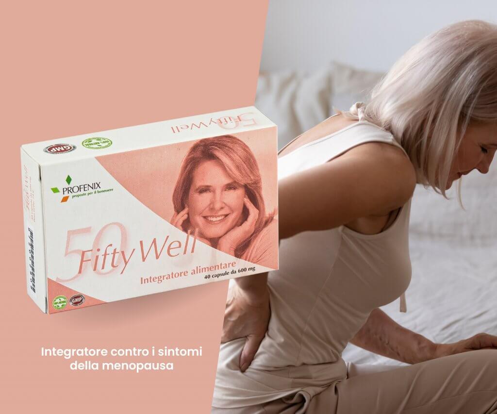 Fifty Well integratore contro i sintomi della menopausa