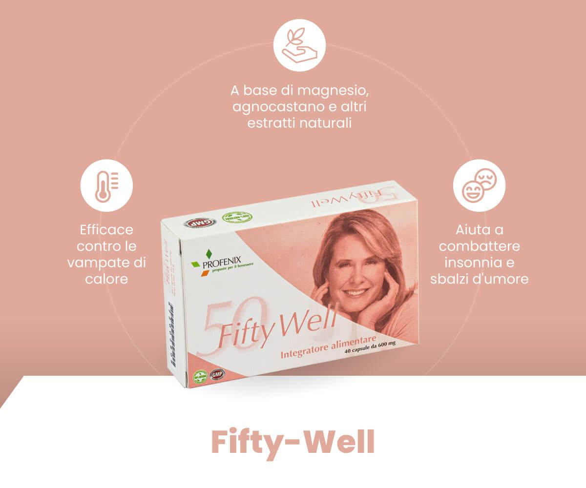 Fifty Well schema benefici