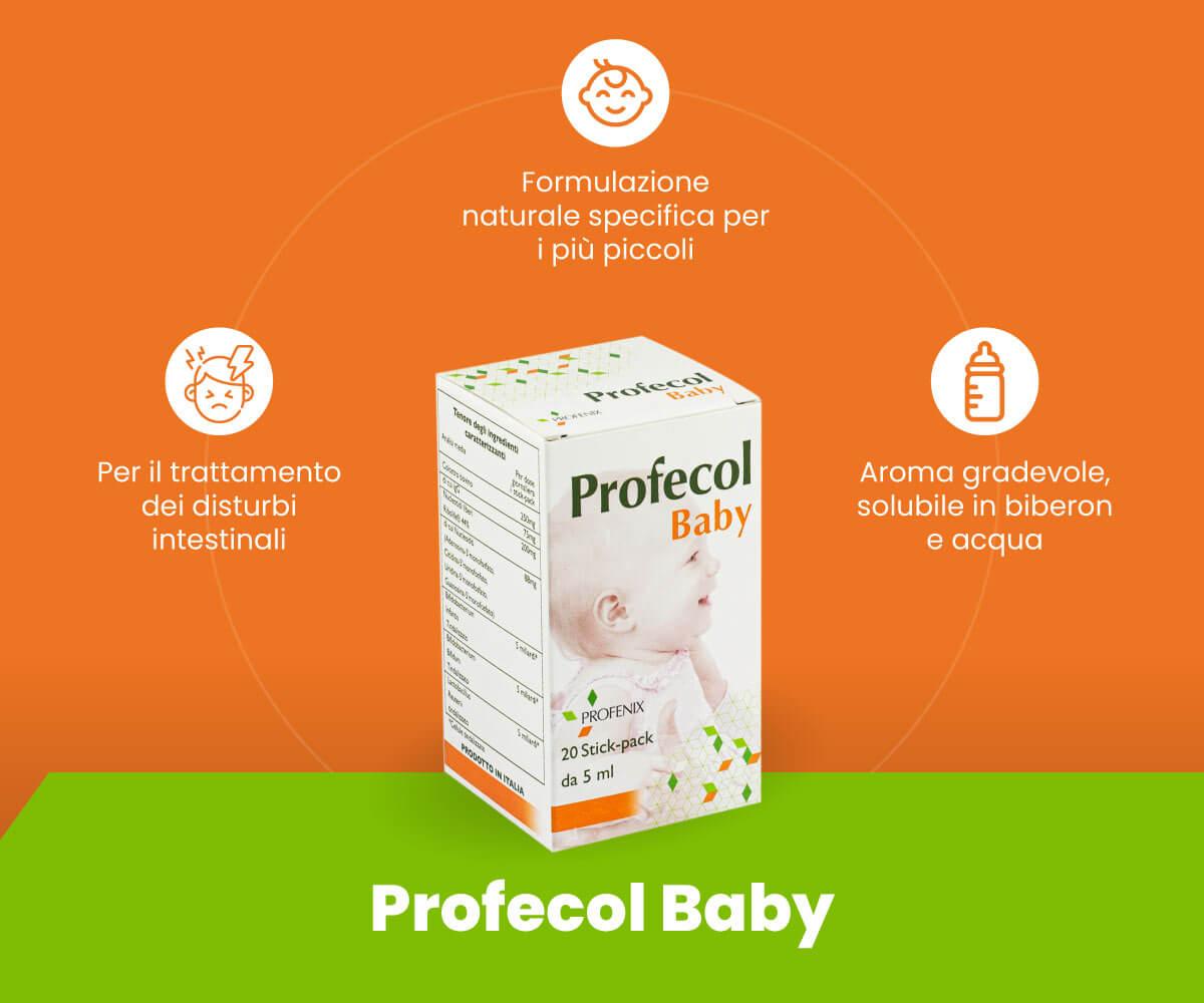 Profecol Baby schema benefici