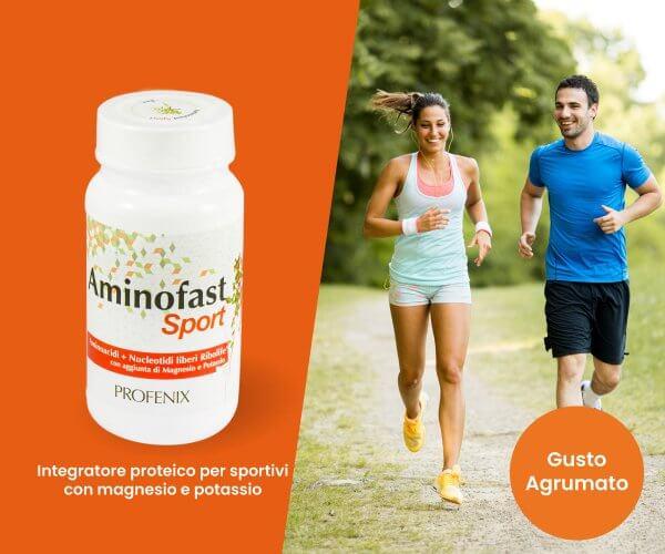 Aminofast Sport recupero muscolare magnesio e potassio