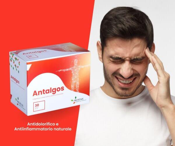 Antalgos antidolorifico e anti infiammatorio naturale