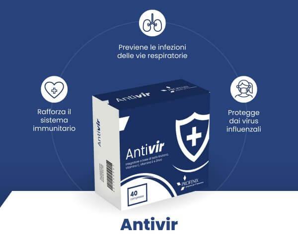 Antivir benefici e schema tecnico