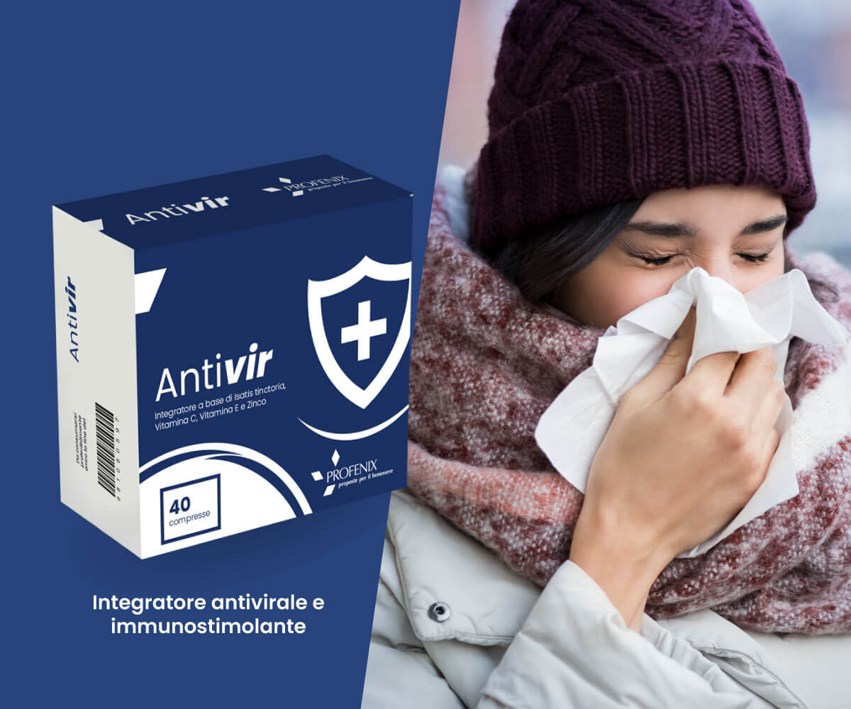 Antivir integratore antivirale e immunostimolante